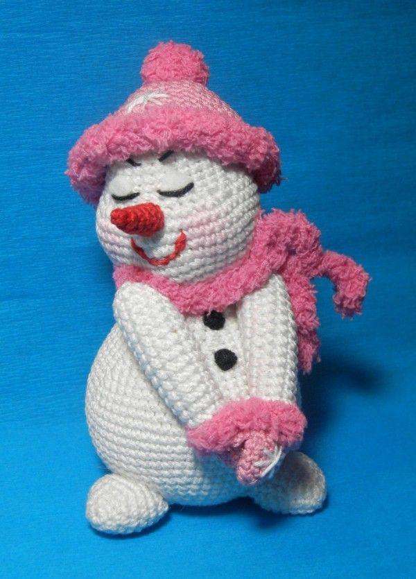 Kleine Frostige Träumerin Zum Selber Häkeln Hekeln Pinterest