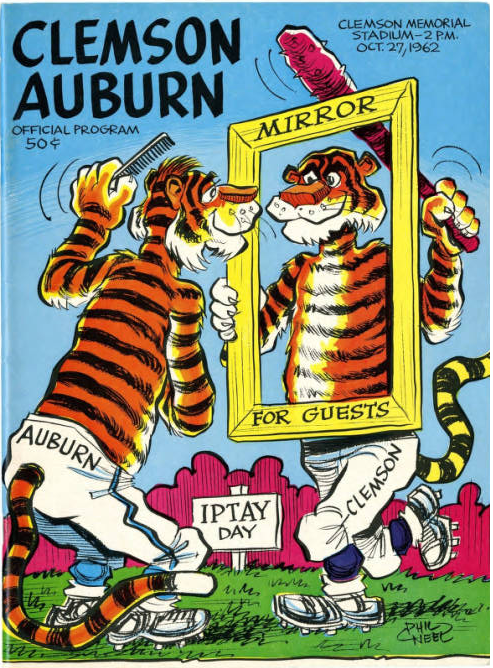 24 inch by 36 inch 1 AUBURN TIGERS College University Poster