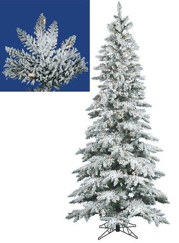 $41999-$69999 75 Foot Flocked Utica Fir Artificial Christmas Tree
