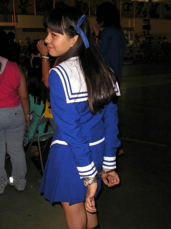 Animedreams 2006 Cuffed Girls In Cosplay Pinterest