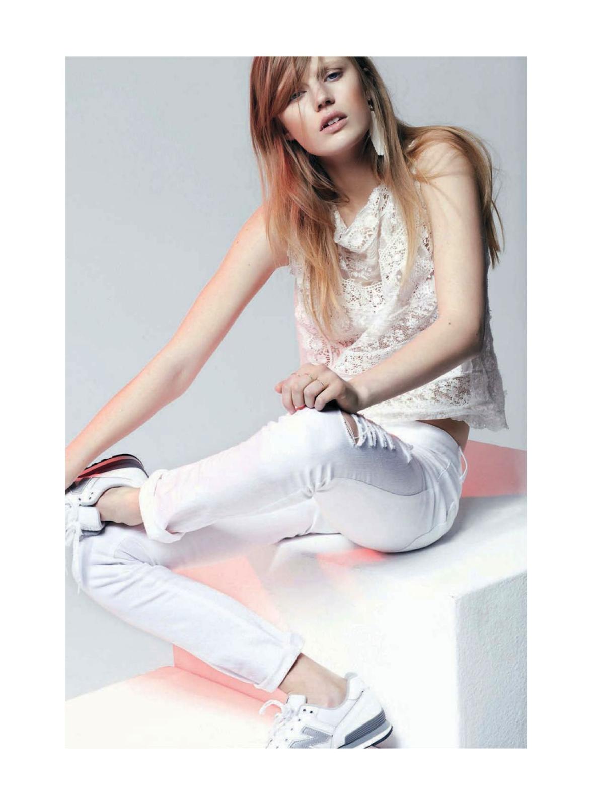 """""""Bohemian White"""" - Gioia April 2013. Photography: Dario Catellani / Stylist: Maria Giulia Riva"""
