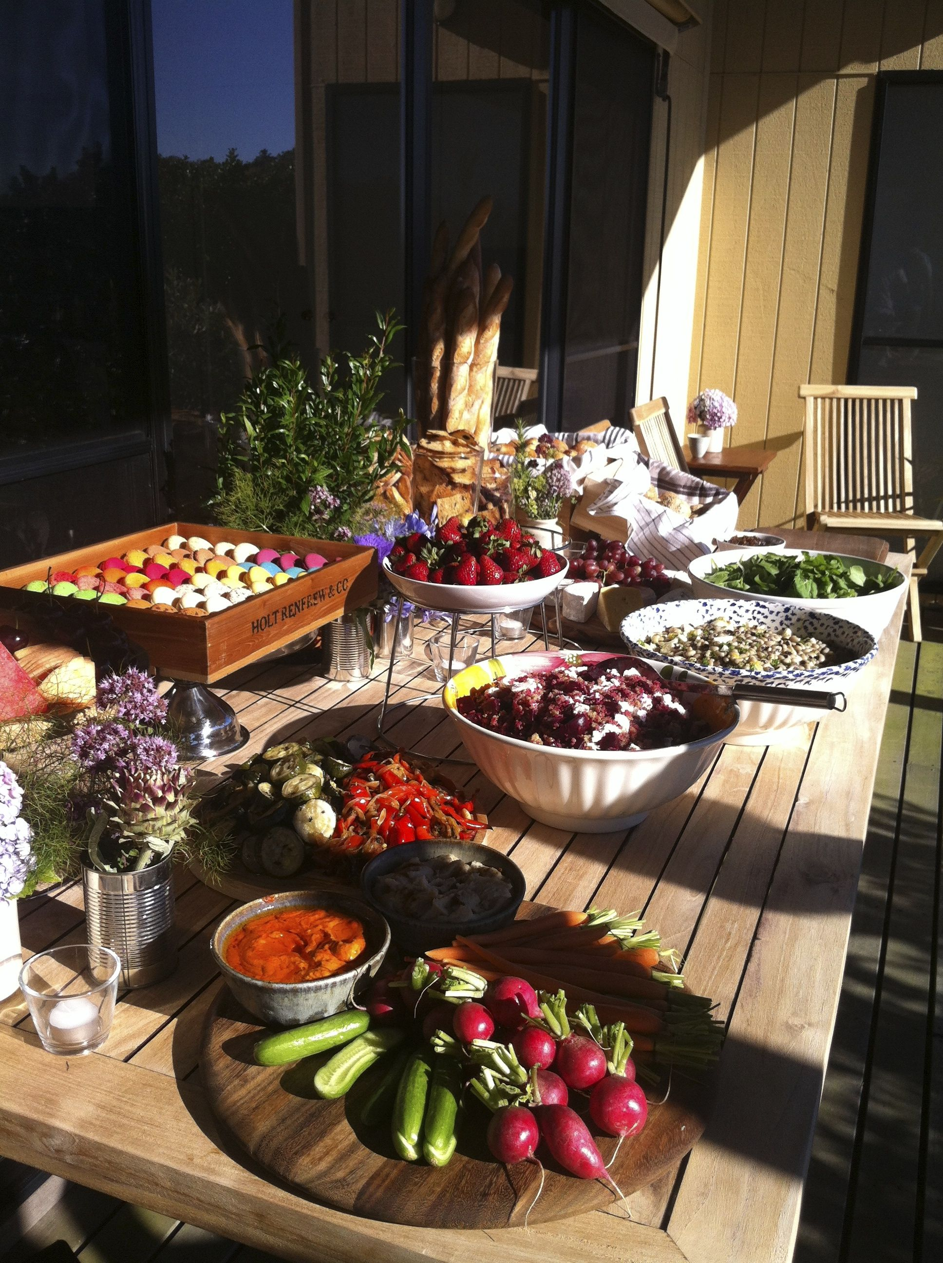 Pin By Creative Hunger On Creative Hunger Garden Party Recipes Party Food Images Backyard Party Food