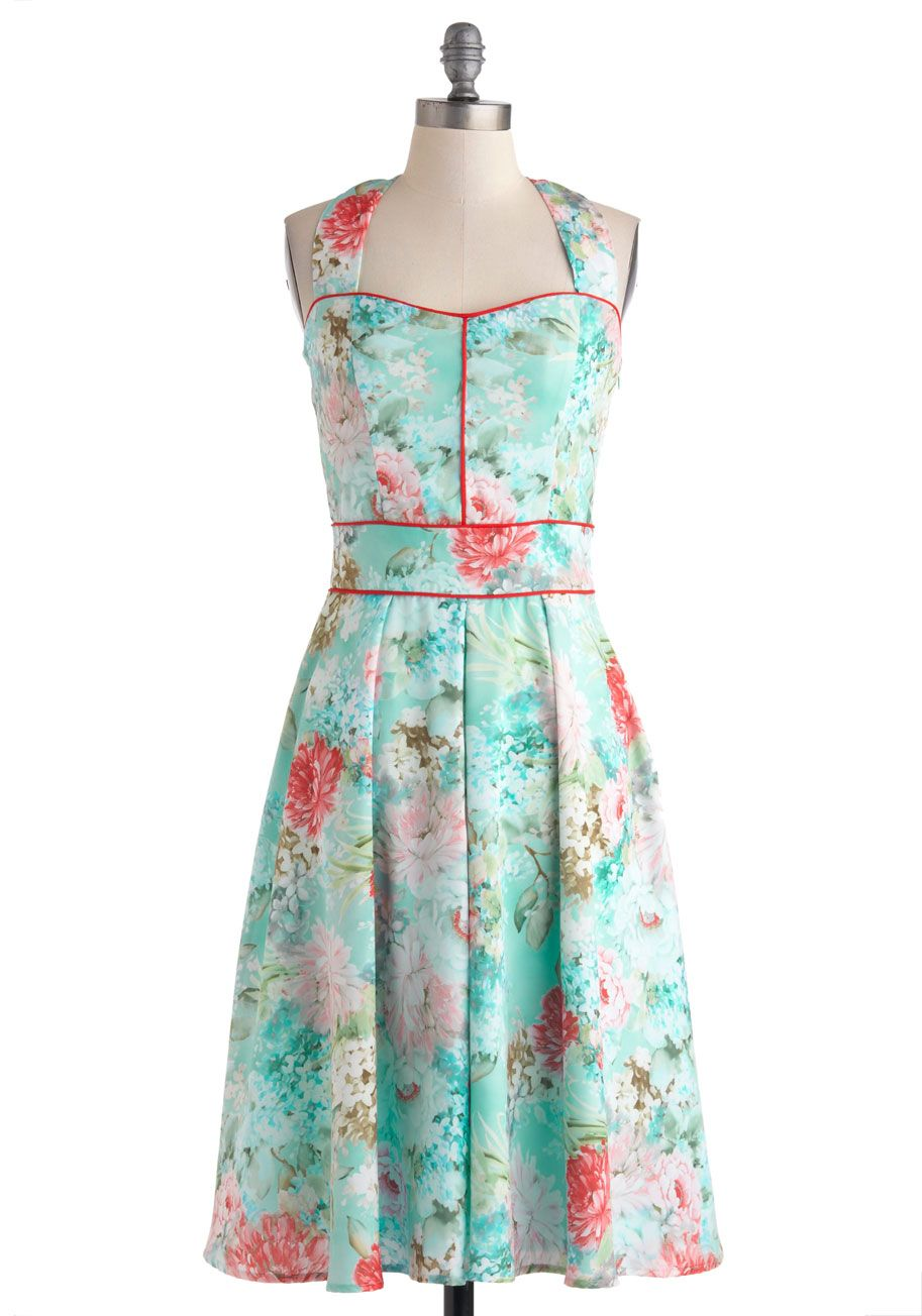Palava Sartorial Storyline A-Line Dress in Garden | Pastels ...