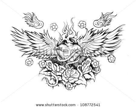 Pin By Tammy Sengmany On Hi Tattoos Sacred Heart Tattoos Tattoo