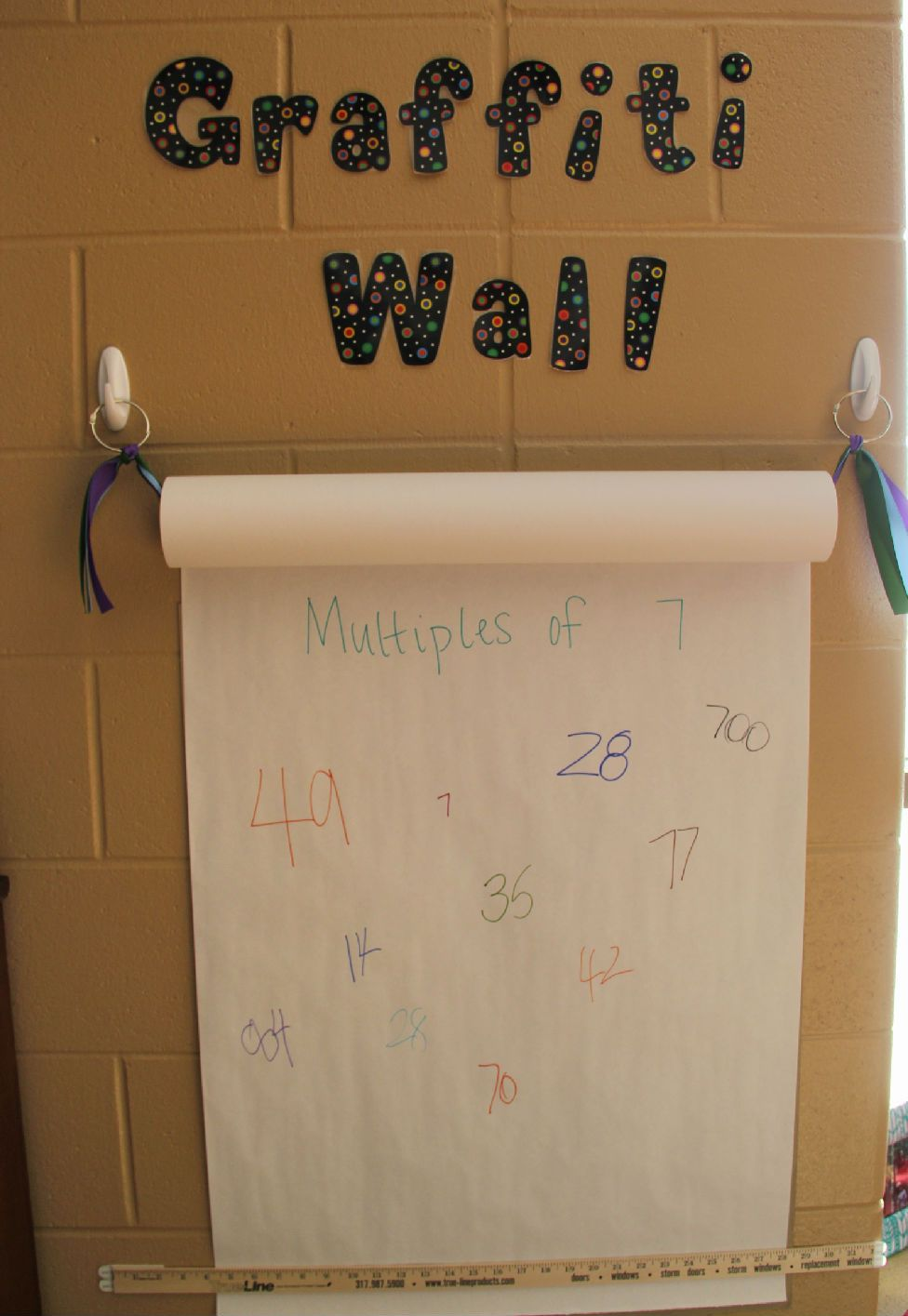 Graffiti wall activity - Cool Way To Get Kids Interested In Writing Or Recording Information Graffiti Wall Use