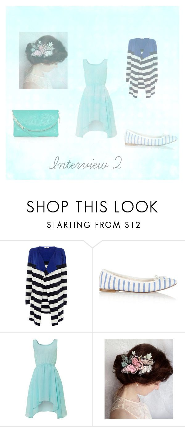 """""""Interview 2"""" by owlaquamarine ❤ liked on Polyvore featuring Oasis, Repetto and Glamorous"""