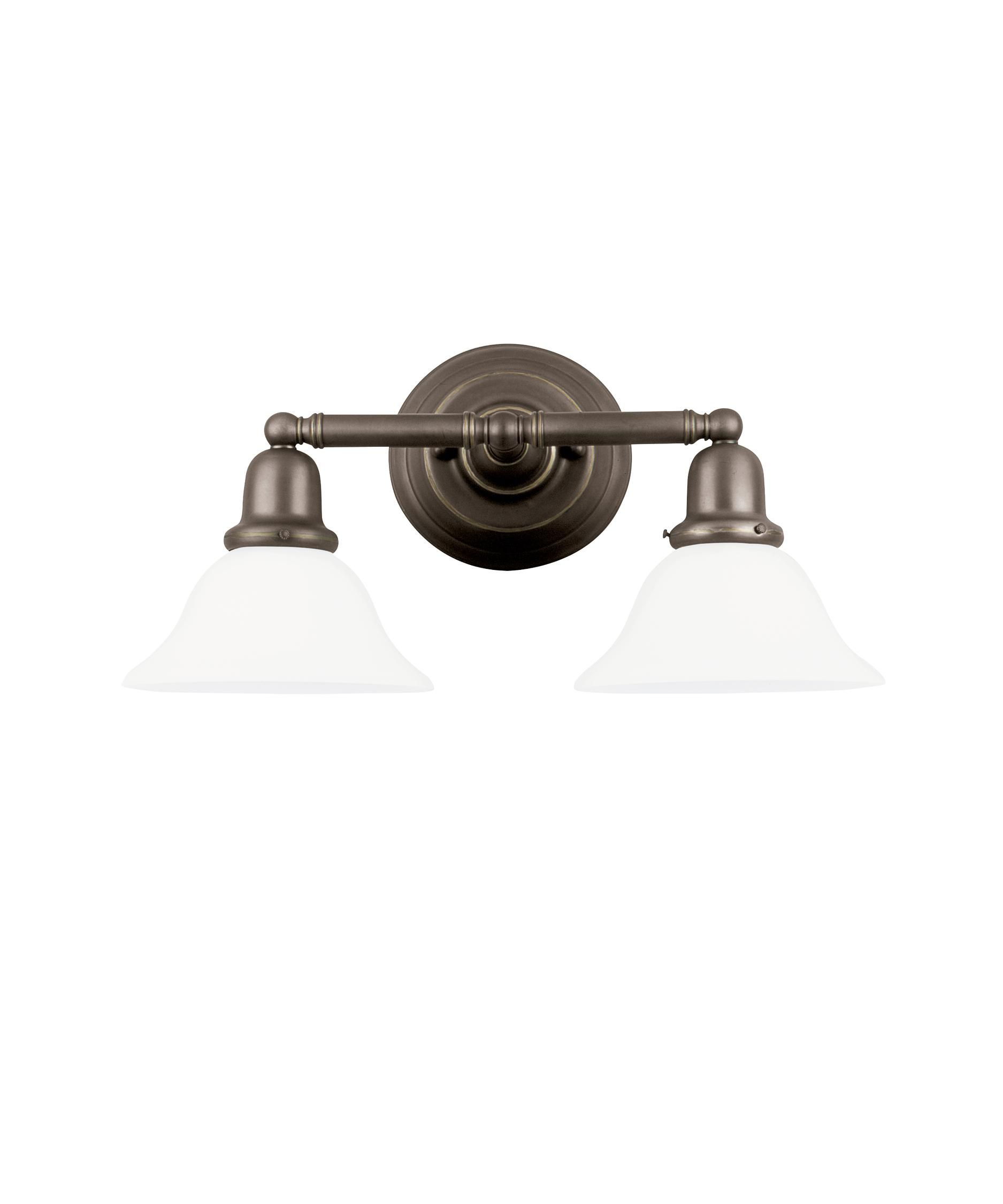 Sea gull lighting 44061en sussex 18 inch bath vanity light