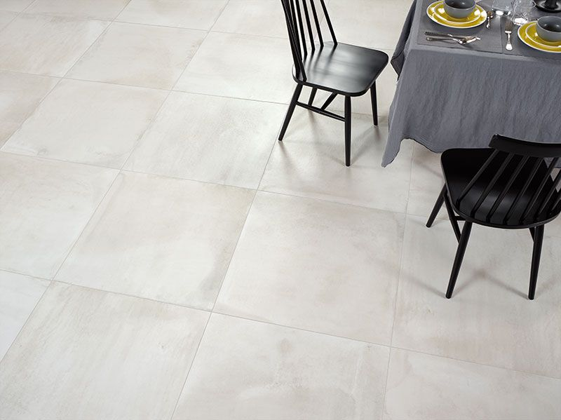 Central Moon Large Format Concrete Effect Floor Tiles Urban Tiles