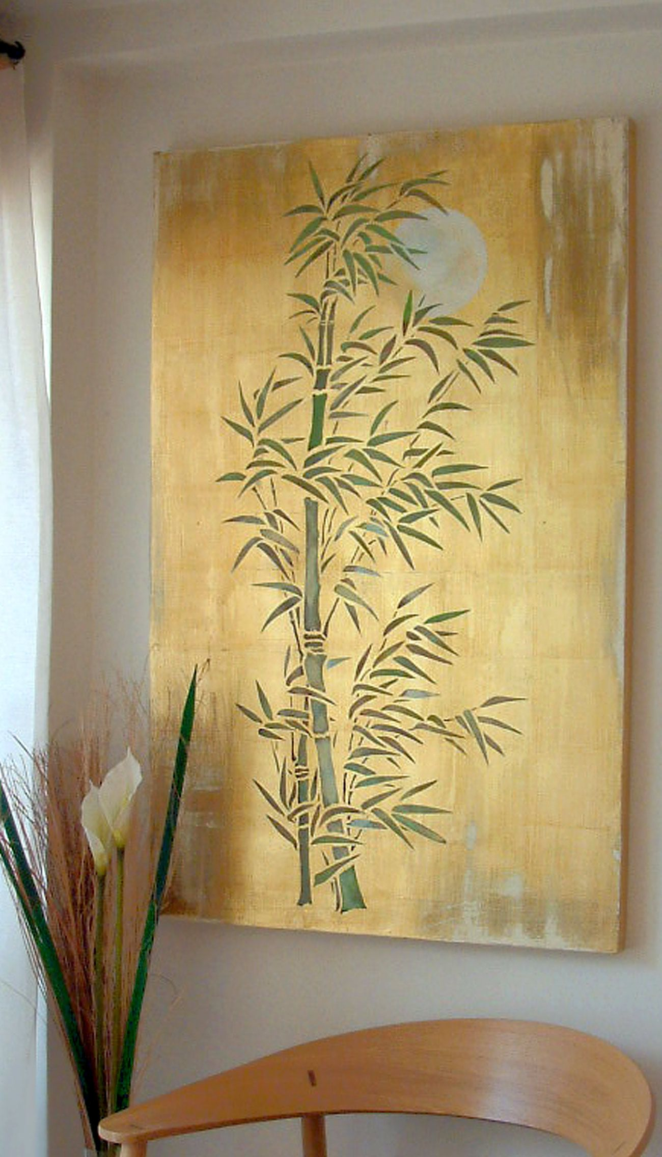 Beautifully elegant bamboo stencil 3 sheet stencil The Oversize ...