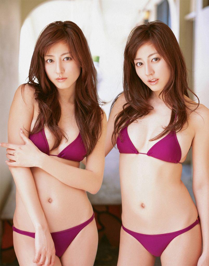 Asian female twins naked photo 118