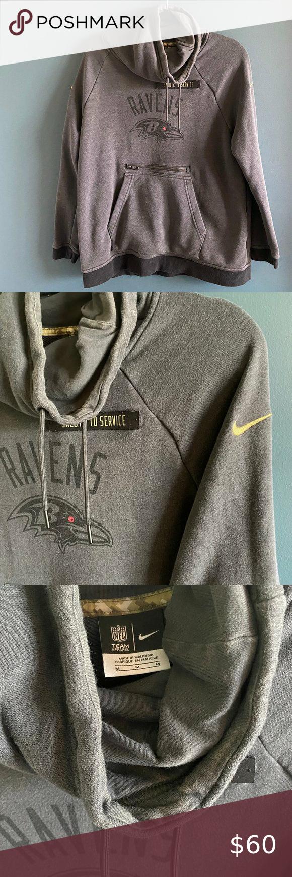 Predownload: Nike Nfl Baltimore Ravens Salute Sweatshirt Nike Nfl Sweatshirts American Flag Patch [ 1740 x 580 Pixel ]