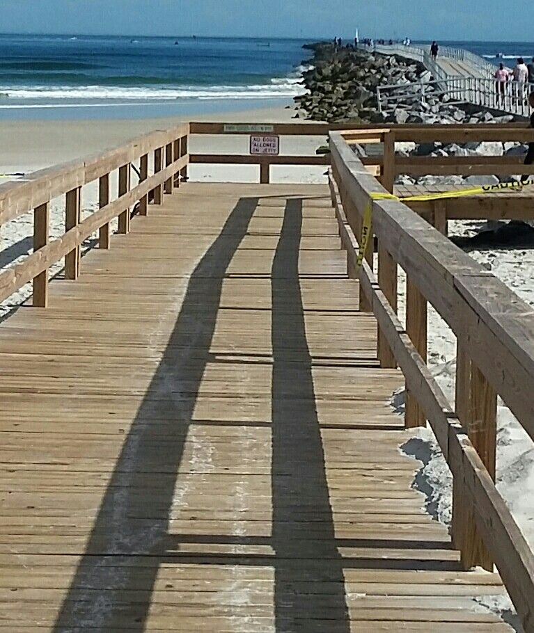A good fishing cart helps to get you there Daytona beach