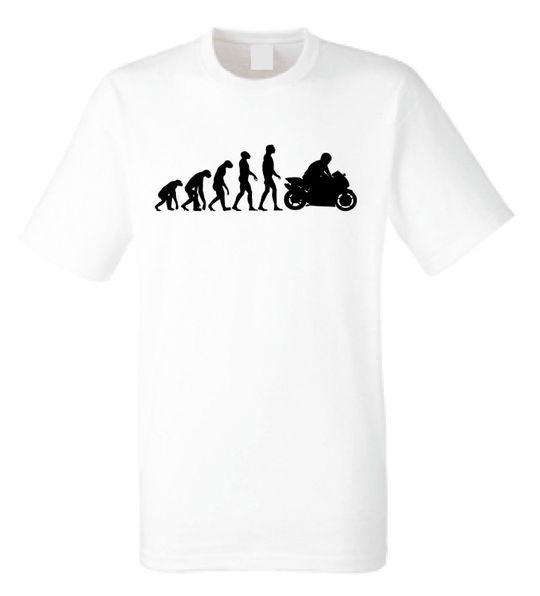 Evolution of Motorcycle Biker Motorbike T-Shirt