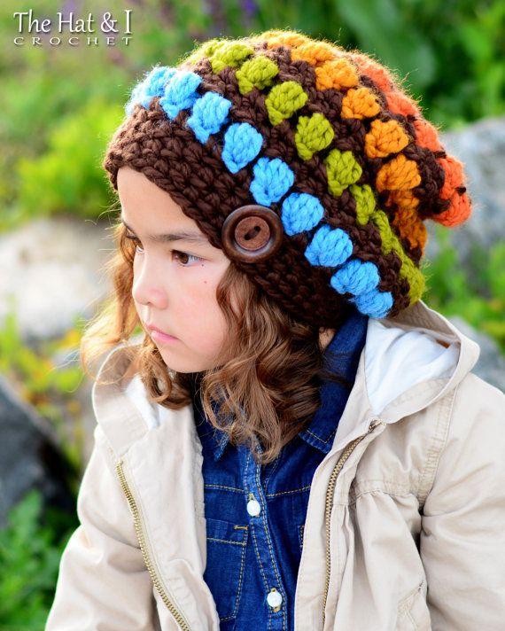 CROCHET PATTERN - Outdoor Adventures - crochet hat pattern, bulky ...