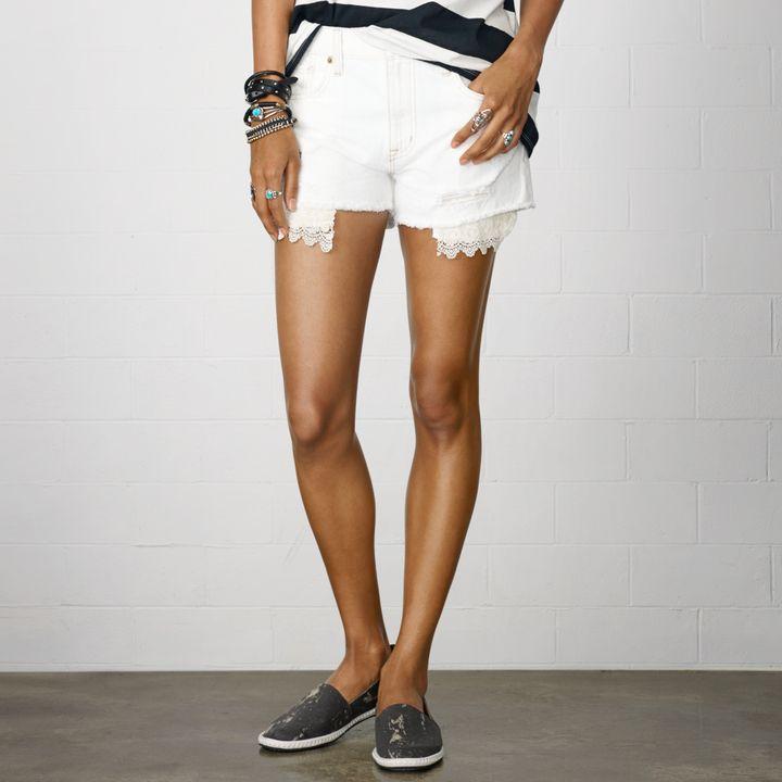 Denim & Supply Ralph Lauren Witteman カットオフ ショートパンツ / Relaxed Witteman Cut-off Shorts on ShopStyle