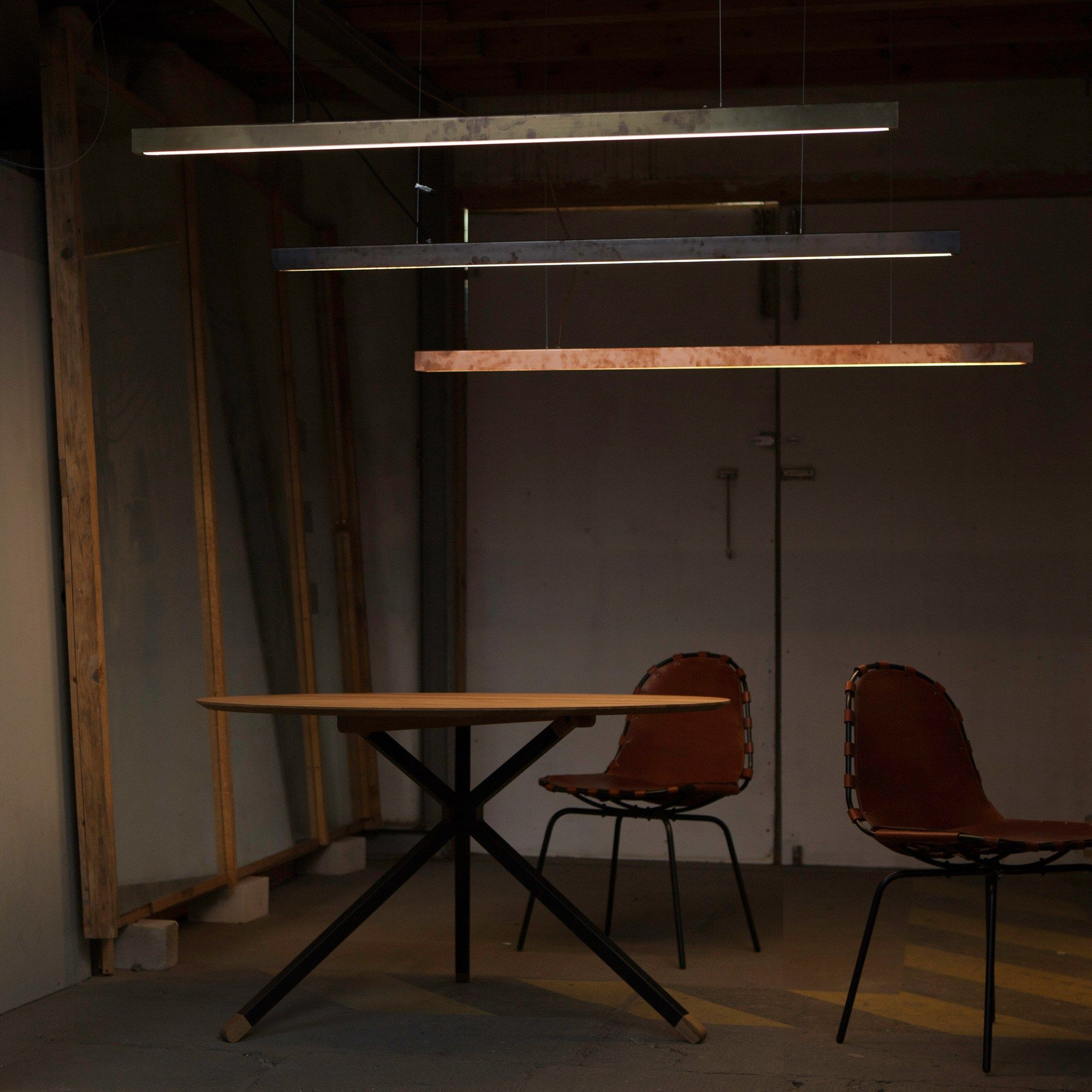 I MODEL Pendelleuchte Aus Stahl Kollektion A_Light By Anour Design Arash  Nourinejad
