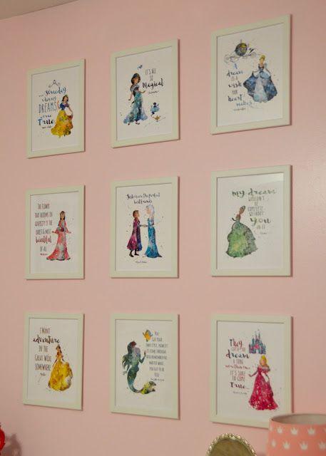 Tour of our Home: Britt\'s Princess Room   Disney slaapkamer ...
