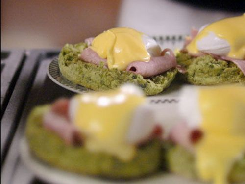 The Fabulous Baker Brothers - Articles - Eggs Benedict with Spinach Muffins Recipe - Channel 4