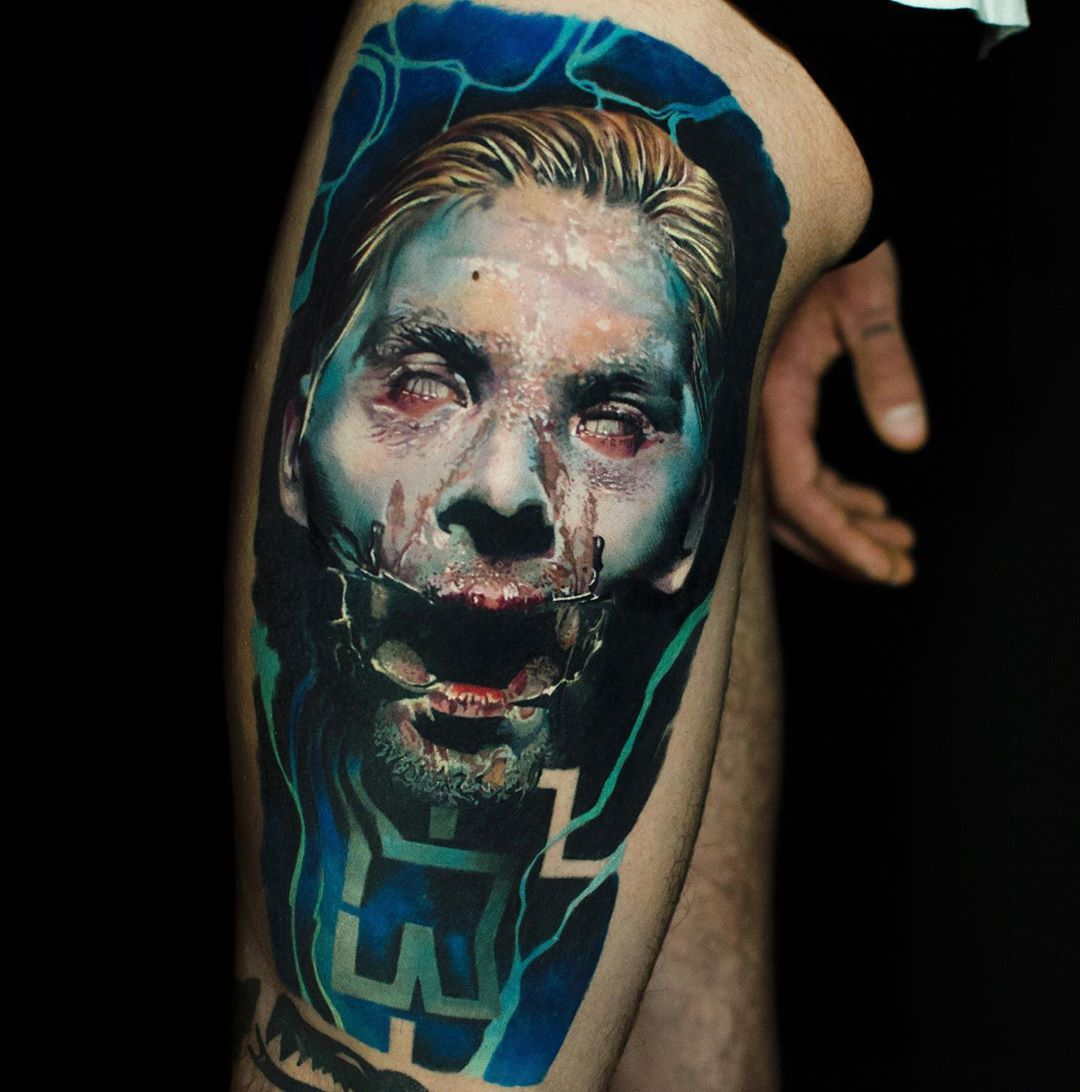 Rammstein Artist Shooby Tattoo Country Fr