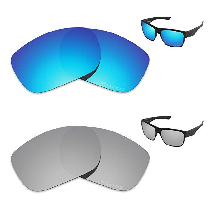 03ff6e1da7 Tintart Performance Replacement Lenses for Oakley TwoFace Polarized Etched  - Value Pack Review