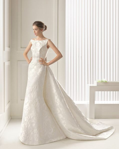 Samara - Rosa Clará 2016 Bridal Collection | Brocade dresses, Rosa ...