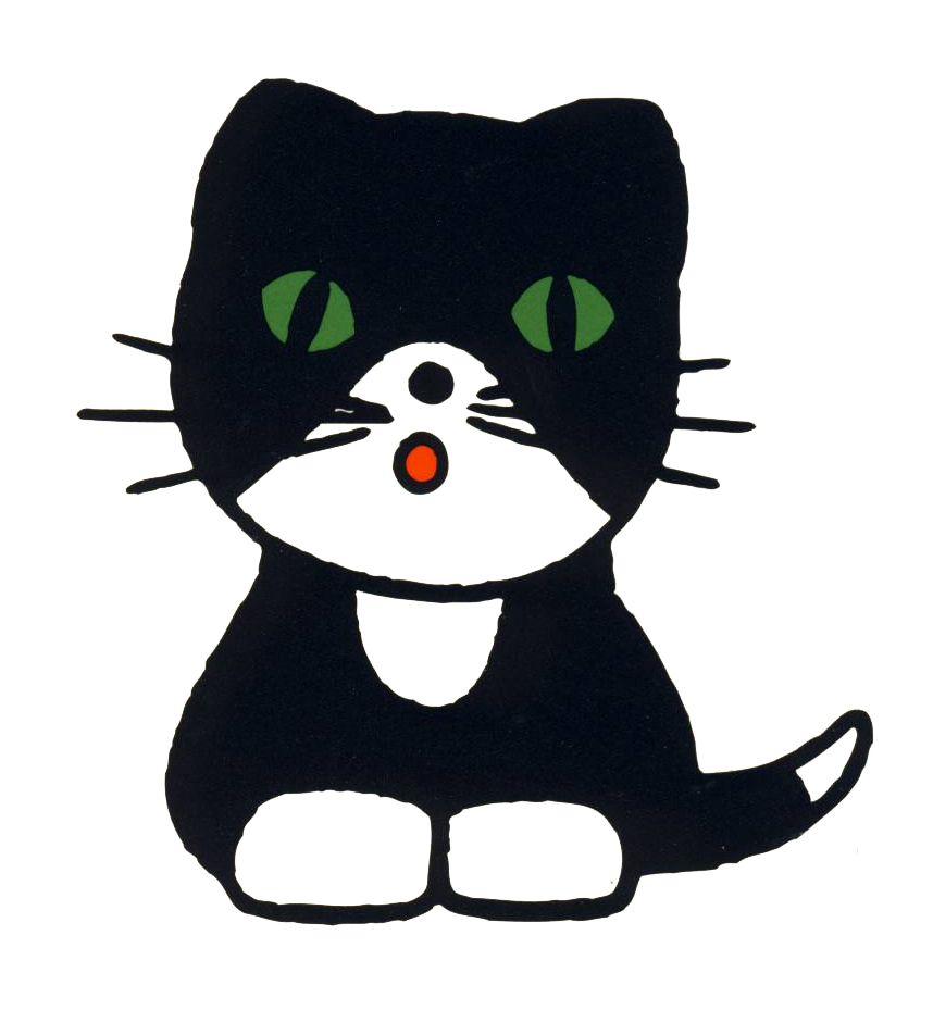 Bruna Cat 猫 絵 かわいい ミッフィー イラスト