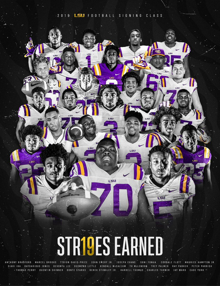 Pin By Skullsparks On 2019 Signing Class In 2020 Lsu Football Team Pictures Thomas Perry