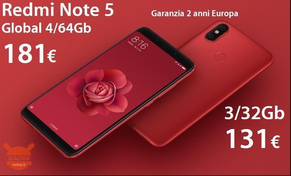 FLIP COVER CUSTODIA LUXURY DUAL VIEW SUPPORTO Per Xiaomi Redmi Note 7 ROSSA