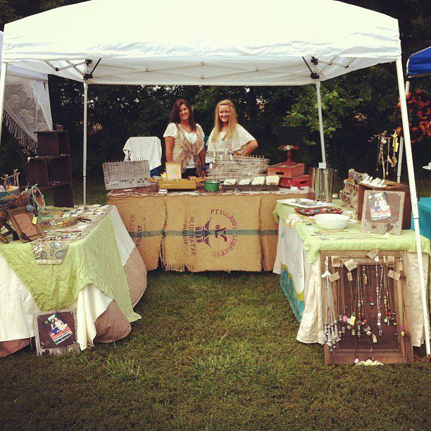 Rustic Craft Show Booth Displays