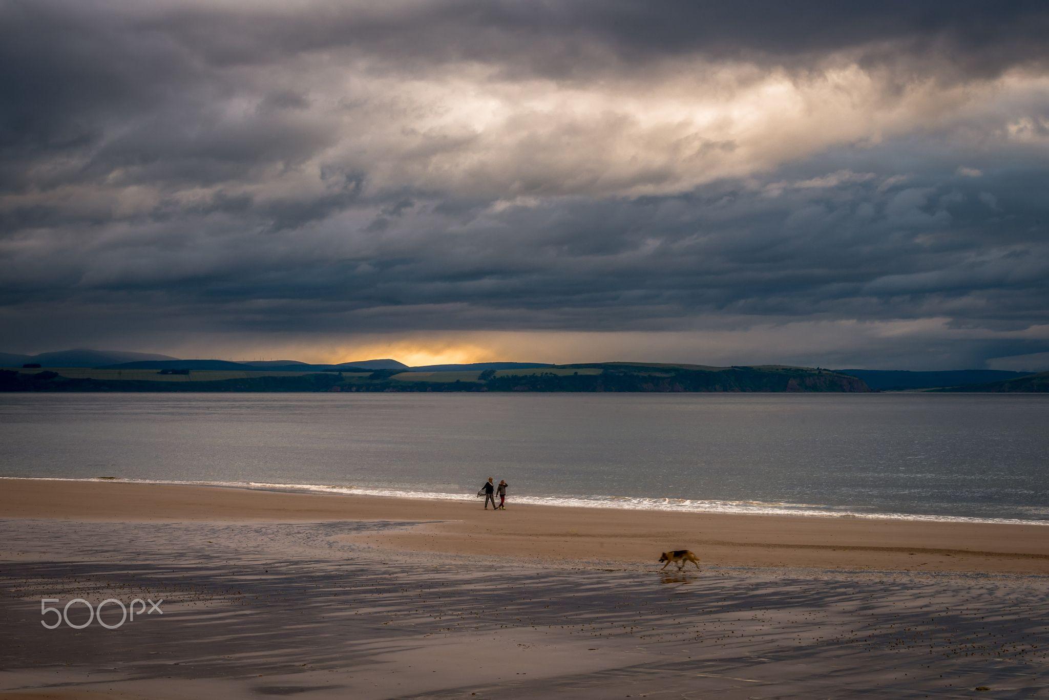 Walking the Dog - still dreaming of Scotland!