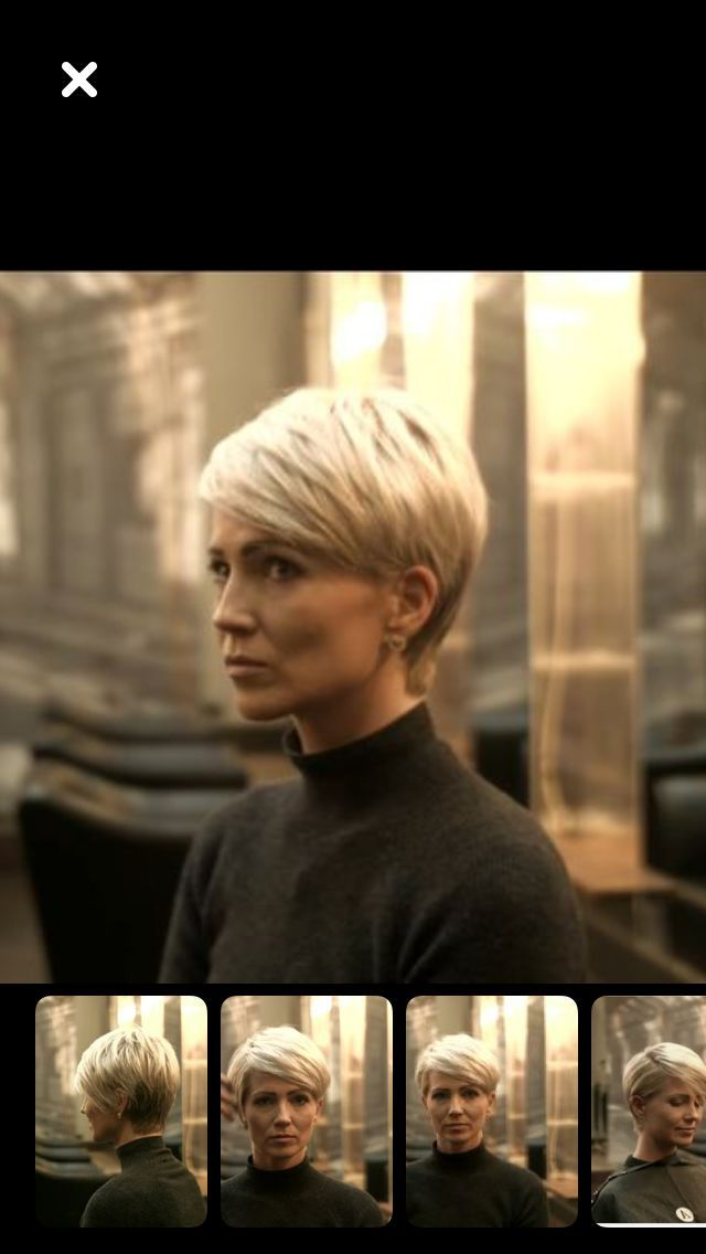 Short Hair Women Style 2017/2018 : Posted by Brusilla
