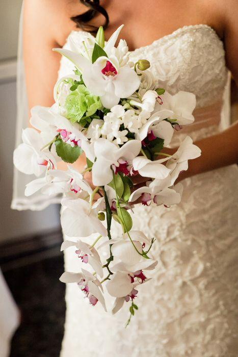 My Bridal Bouquet Orchid Jasmine Lillies Jasmine Wedding
