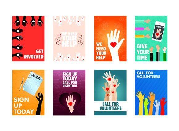 Volunteer Brochure Template Doritrcatodos