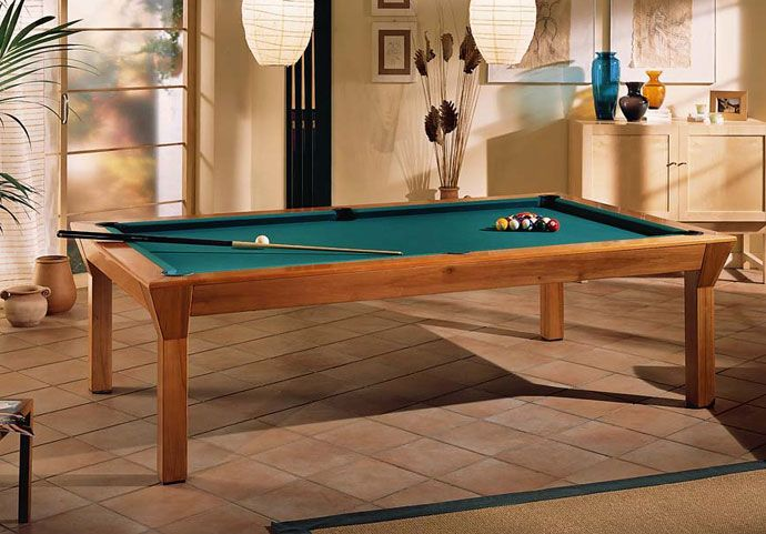 Ein Moderner Verwandlungskünstler: Der Billardtisch Esstisch Siena. Der 7ft  Oder 8ft Große Billardtisch Esstisch