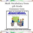 This file contains a vocabulary game that will help your students review the vocabulary necessary to be successful in mathematics.  It is a fun and...