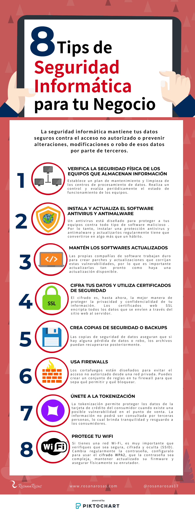 8 Tips De Seguridad Informática Para Tu Negocio Seguridad Informática Informática Consejos De Seguridad