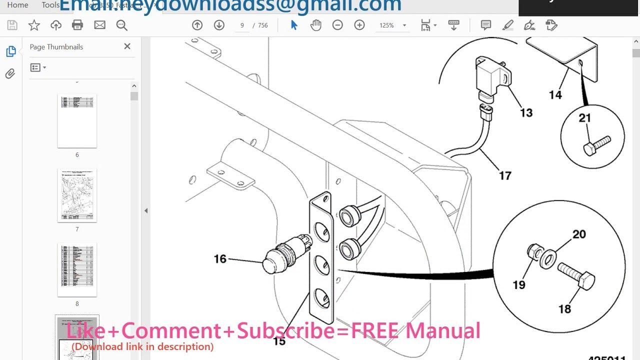 Jcb 8250 Fastrac Parts Catalogue Manual Sn 01139000 01139999 Parts Catalog Manual Catalog