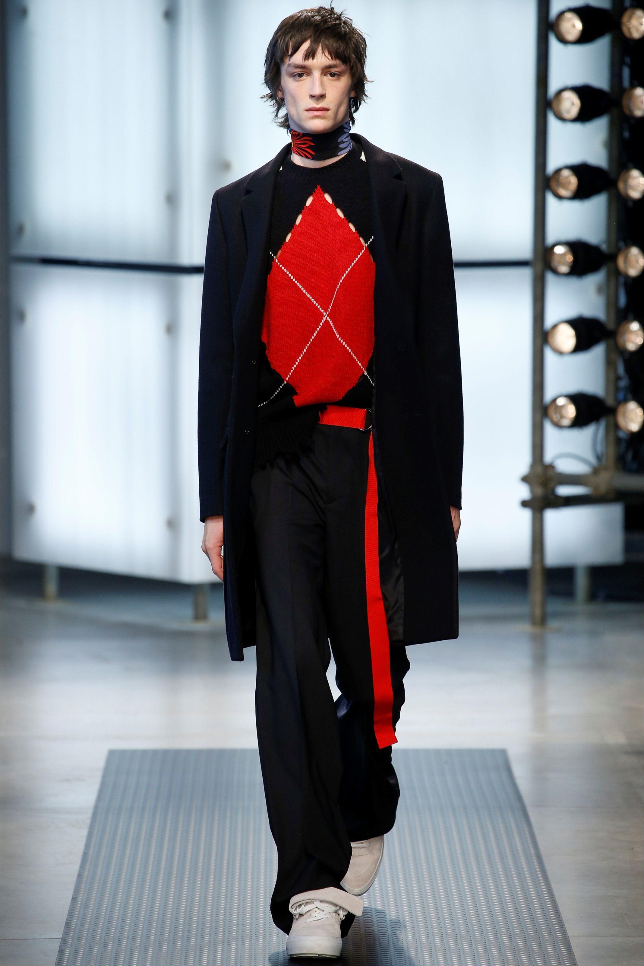 Sfilata Moda Uomo MSGM Milano - Autunno Inverno 2016-17 - Vogue