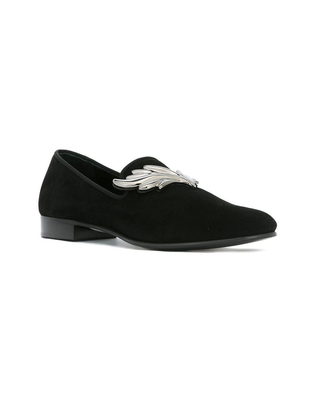 Buy Giuseppe Zanotti Men's Black 'cruel' Slippers, starting at €665. Similar
