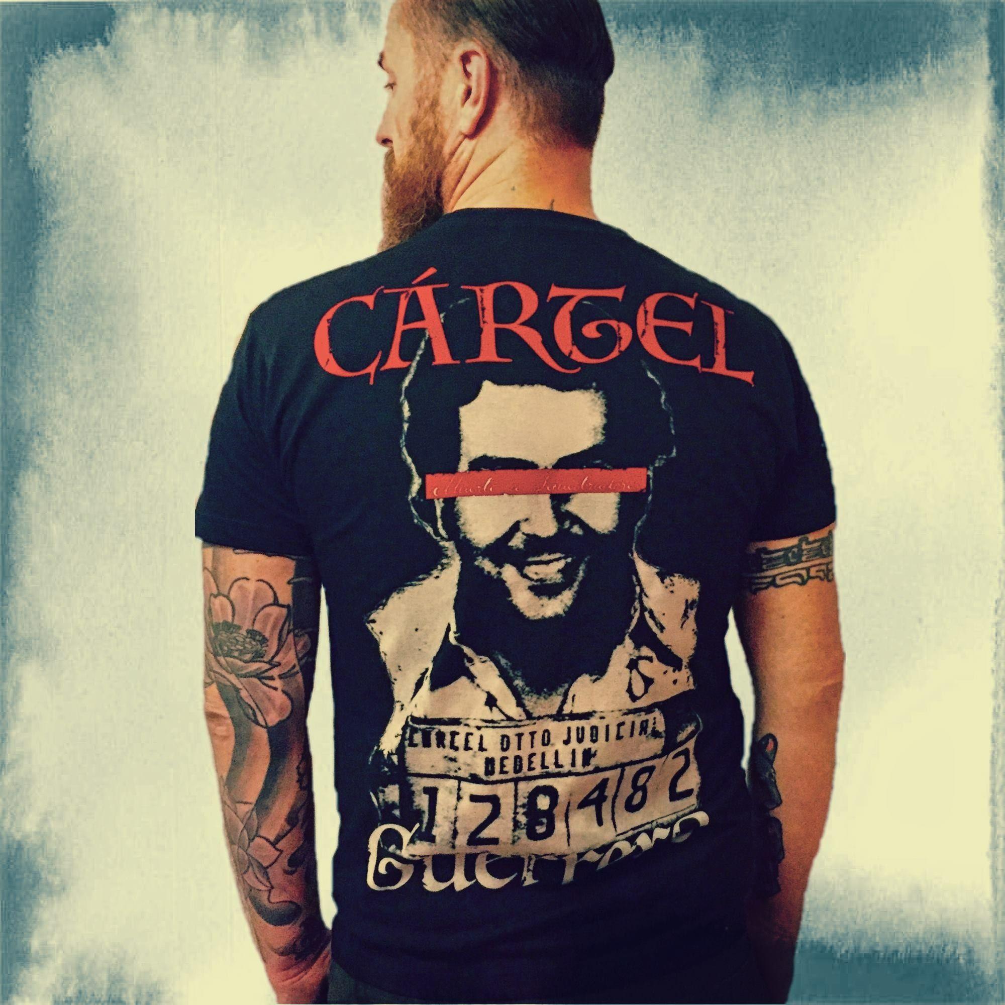 60c0be8f ☆CARTEL ORIGINAL- MEDELLIN Black☆ #carteloriginal #cartel #clothing #tattoo  #
