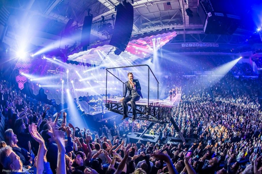 Mohegan Sun Tickets And Schedule Concerts Timberlake Stage Set Insomniac Events