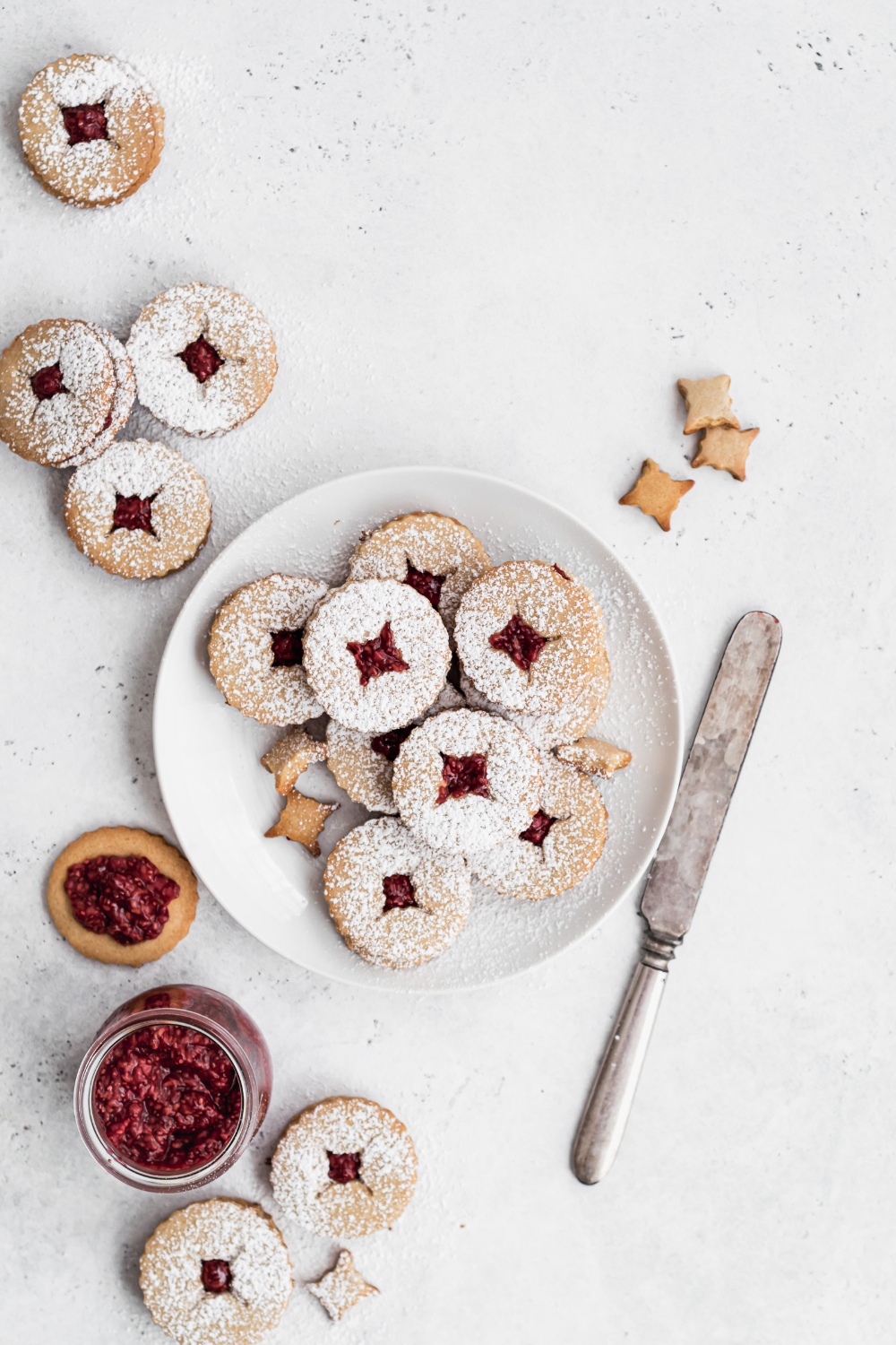 Paleo Linzer Cookies with Raspberry Chia or Fig Jam   Well Fed Soul