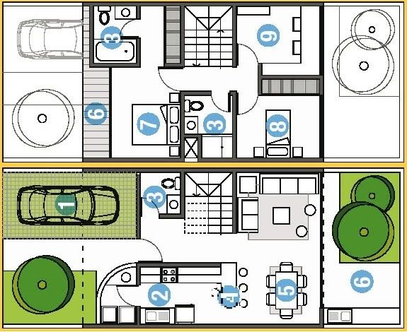 Planos de casas peque as buscar con google planos - Planos de casas unifamiliares ...
