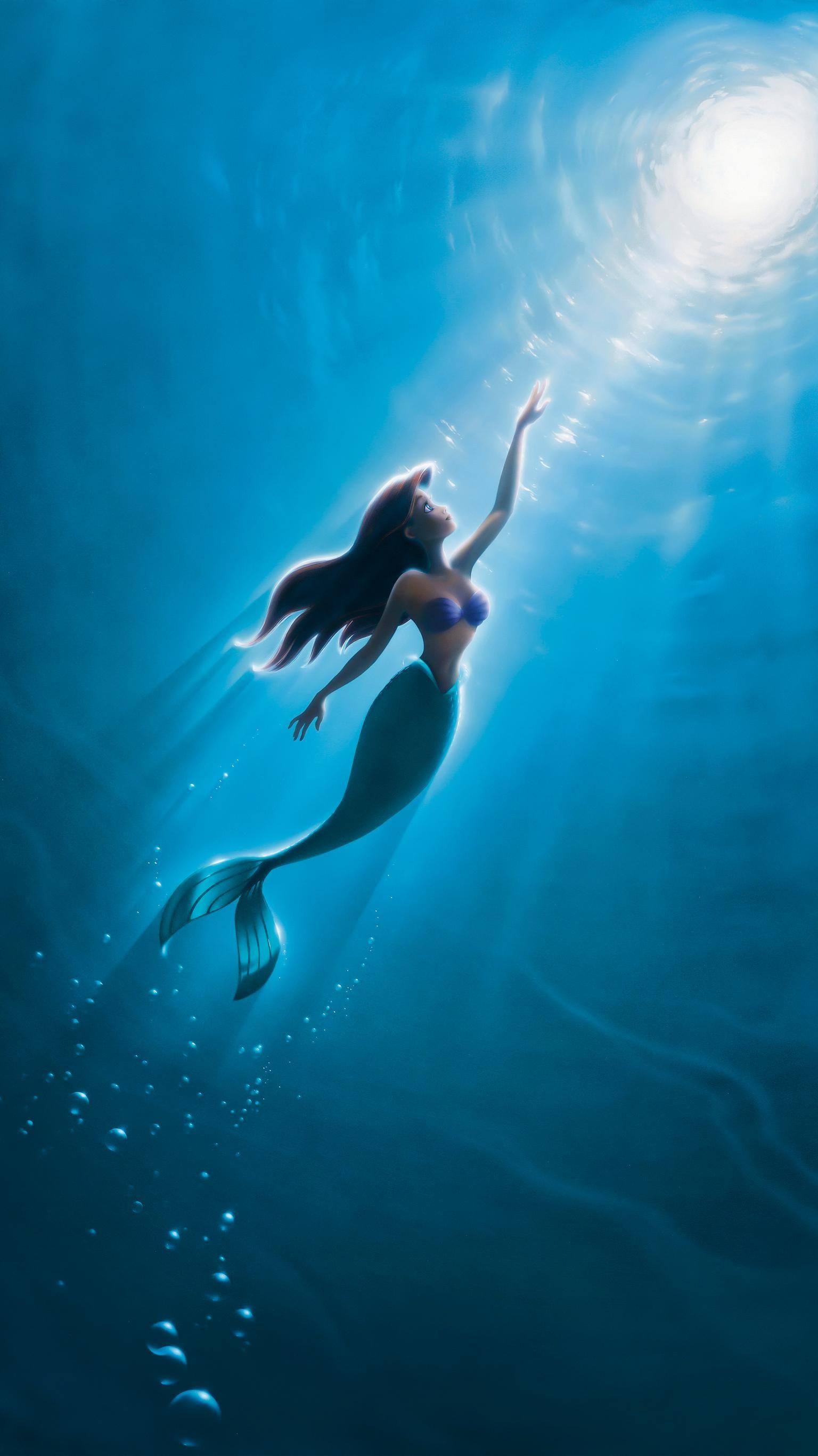 The Little Mermaid (1989) Phone Wallpaper | Moviemania #mermaid