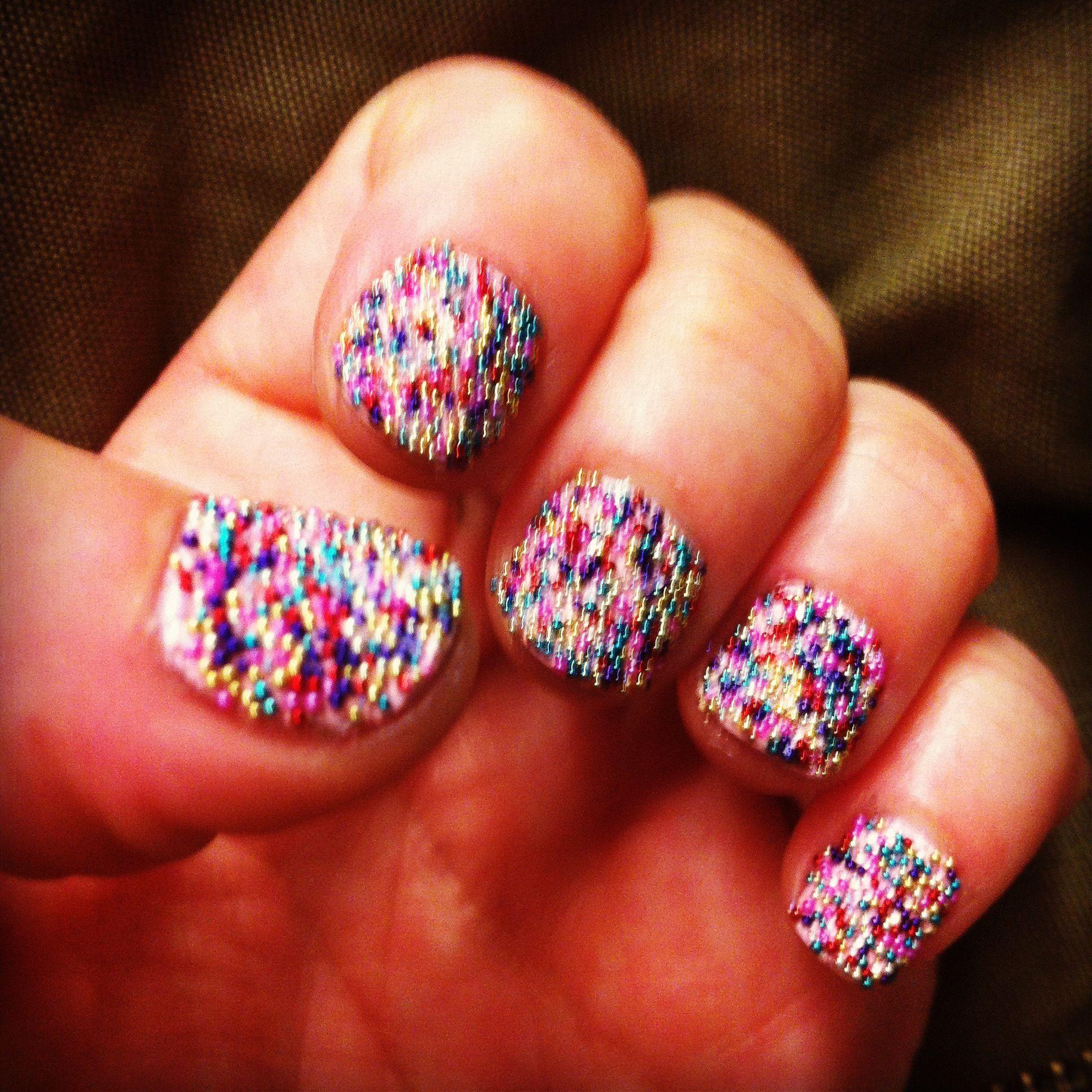 Ciate Caviar Nails: #Sephora #Nailspotting #Caviar #Ciate