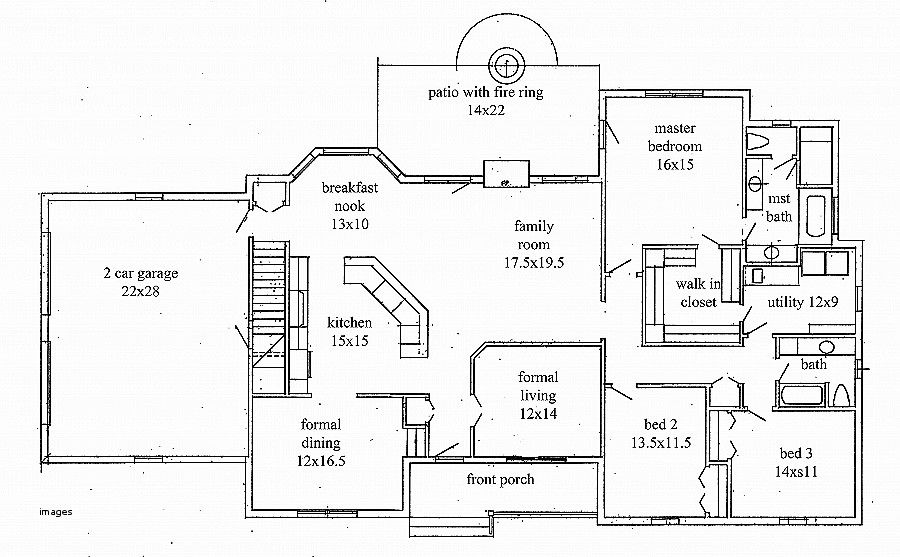 2000 Sq Ft House Plans With Walkout Basement Luxury House Plan