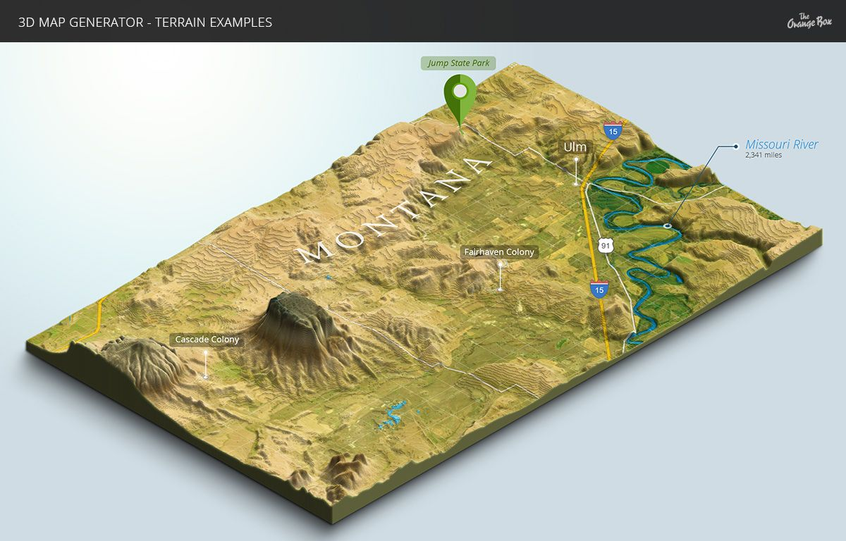 3D Map Generator - Terrain From Heightmap By Orange_Box