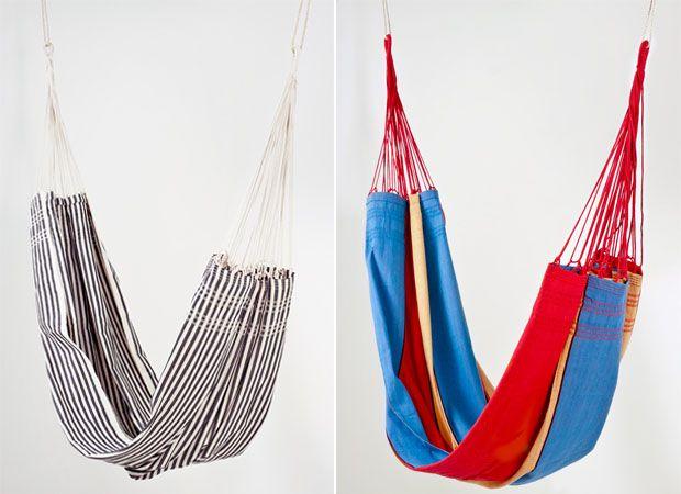 redes de dormir coloridas