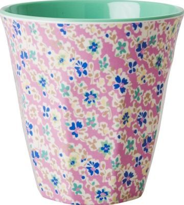 Rice Flowers goblet - dusky pink `One size Fabrics : Melamine Composition : No BPA, phtalates, lead or organic tin compounds Color : Vintage Pink, Green Details : Floral print Height : 9 cm, Diameter : 9 cm. Dishwasher safe http://www.comparestoreprices.co.uk/january-2017-7/rice-flowers-goblet--dusky-pink-one-size.asp