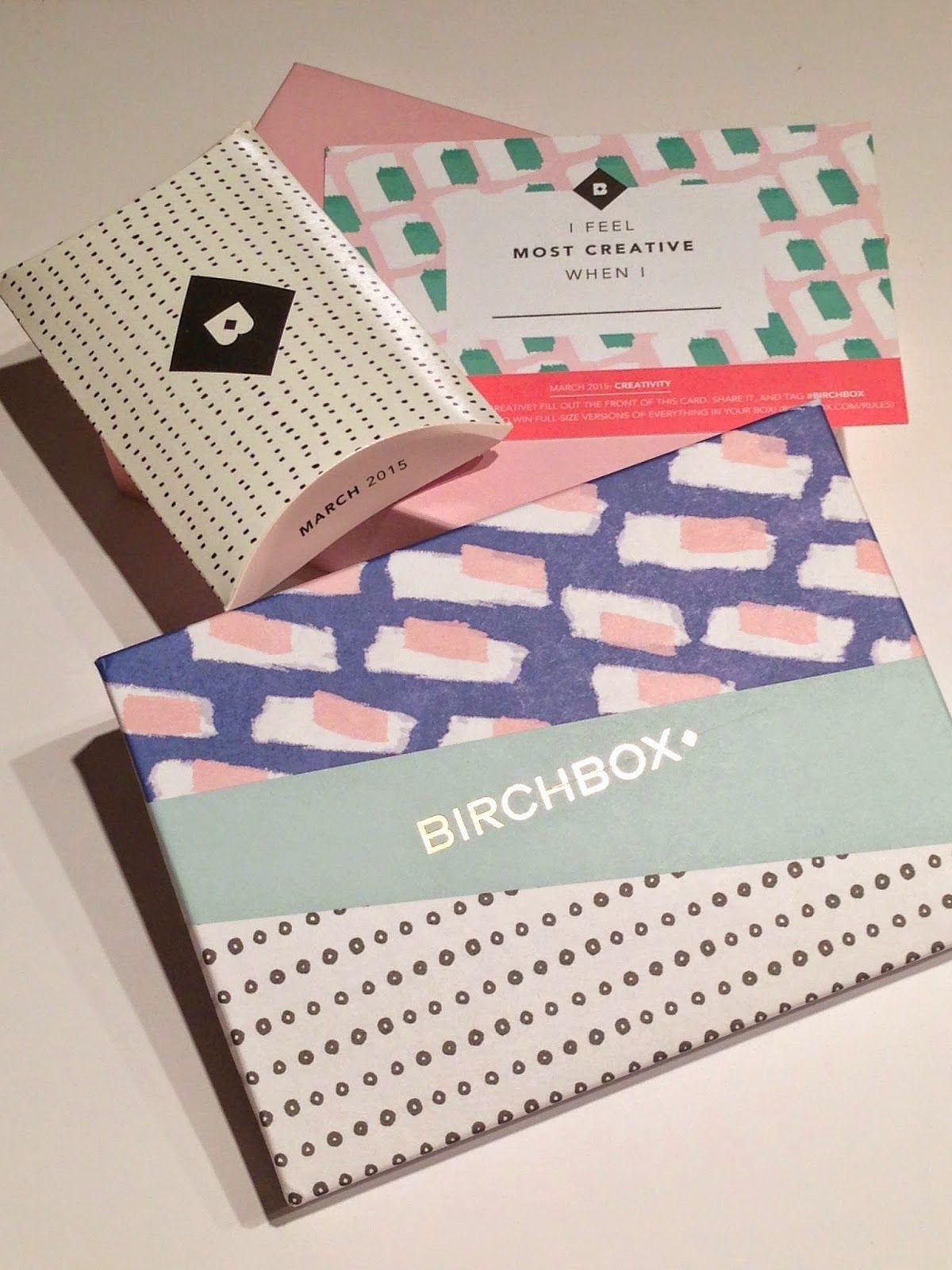 Birchbox Subscription Box Review March 2015 Birch box